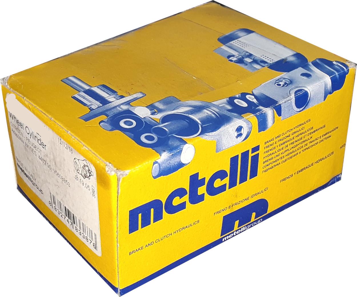 Hnací hřídel - poloosa METELLI 17-0732