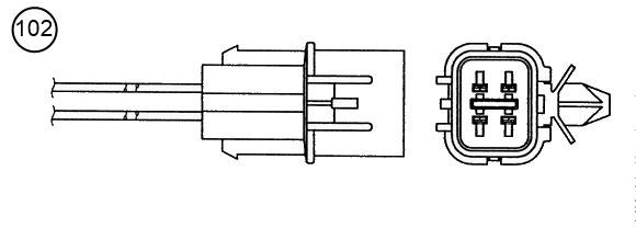 Lambda sonda NGK 0015