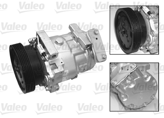 Kompresor klimatizace VALEO 699414