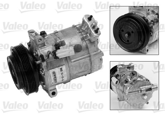 Kompresor klimatizace VALEO 699807