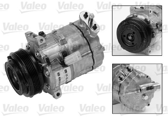 Kompresor klimatizace VALEO 699817