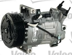 Kompresor klimatizace VALEO 813382