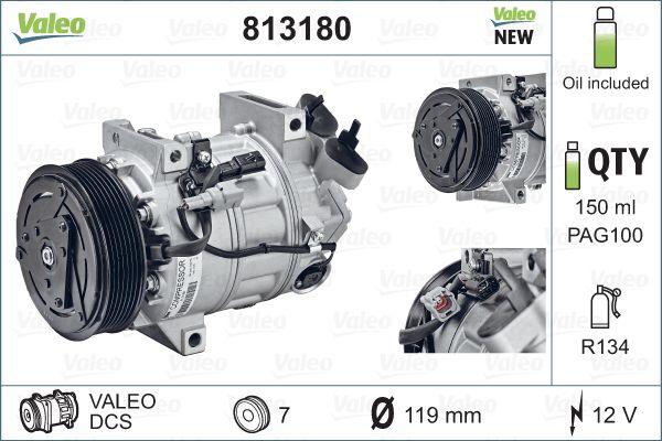 Kompresor klimatizace VALEO 813180