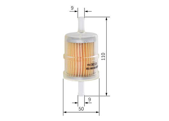 Palivový filtr BOSCH 0 450 904 159