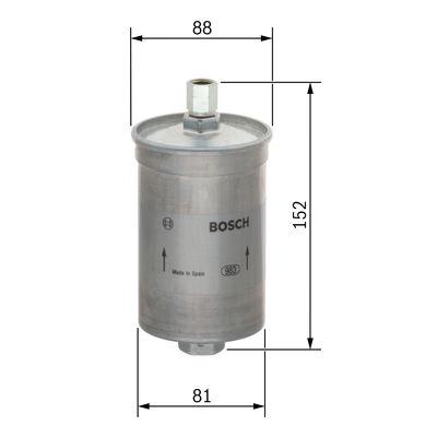 Palivový filtr BOSCH 0 450 905 145