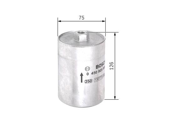 Palivový filtr BOSCH 0 450 905 906
