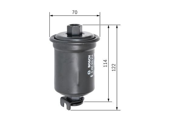 Palivový filtr BOSCH 0 450 905 914