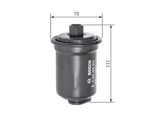 Palivový filtr BOSCH 0 450 905 915