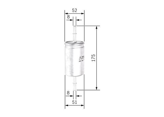 Palivový filtr BOSCH 0 450 905 939