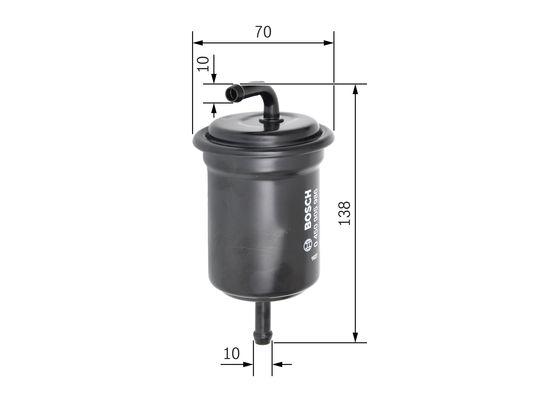 Palivový filtr BOSCH 0 450 905 986