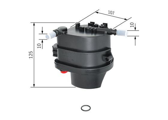Palivový filtr BOSCH 0 450 907 007