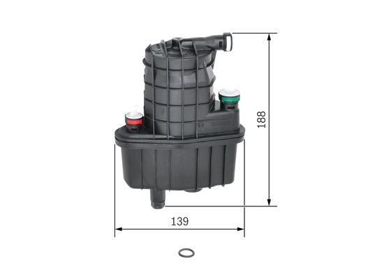 Palivový filtr BOSCH 0 450 907 016