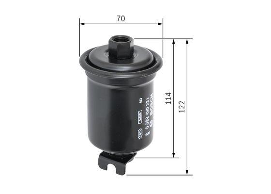 Palivový filtr BOSCH 0 986 450 221