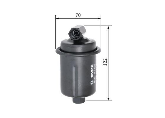 Palivový filtr BOSCH 0 986 450 225