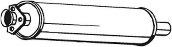 Přední tlumič výfuku BOSAL 105-901