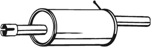 Zadní tlumič výfuku BOSAL 200-015