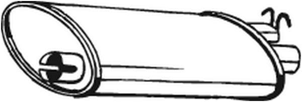 Zadní tlumič výfuku BOSAL 235-949