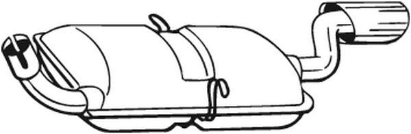 Zadní tlumič výfuku BOSAL 235-193