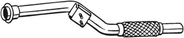 Výfuková trubka BOSAL 800-003