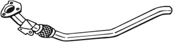 Výfuková trubka BOSAL 800-053