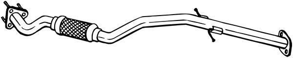 Výfuková trubka BOSAL 800-187