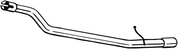 Výfuková trubka BOSAL 800-193