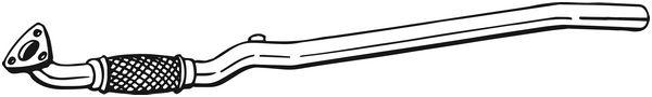 Výfuková trubka BOSAL 800-335