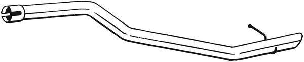Výfuková trubka BOSAL 800-227