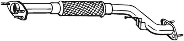 Výfuková trubka BOSAL 800-063
