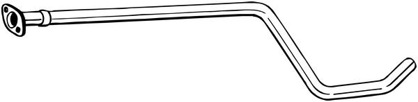 Výfuková trubka BOSAL 800-207