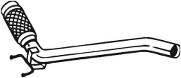 Výfuková trubka BOSAL 800-201