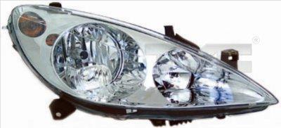 Hlavní světlomet TYC 20-0166-15-2
