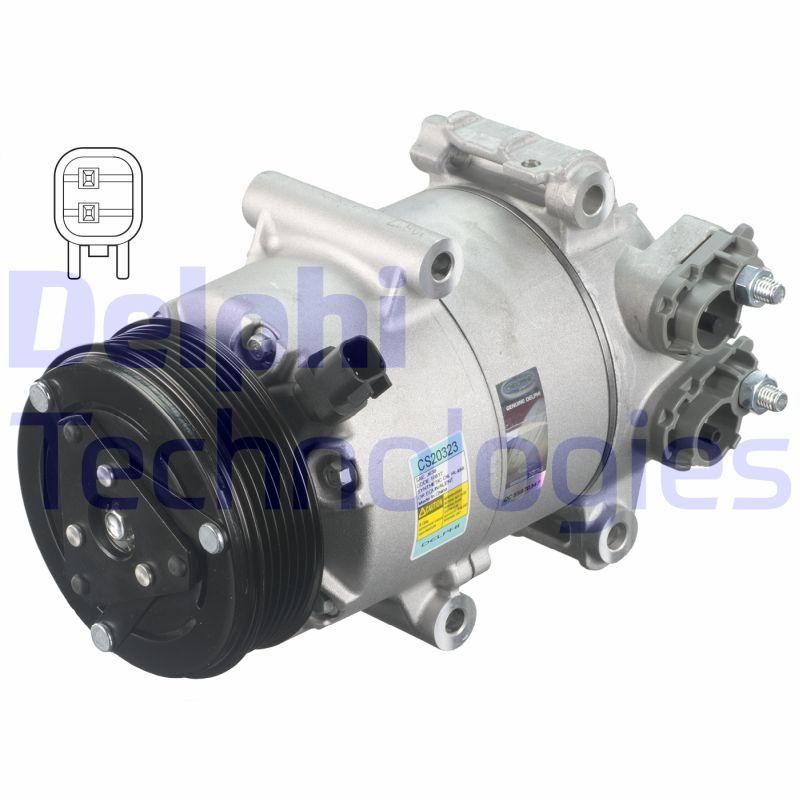 Kompresor klimatizace DELPHI CS20323