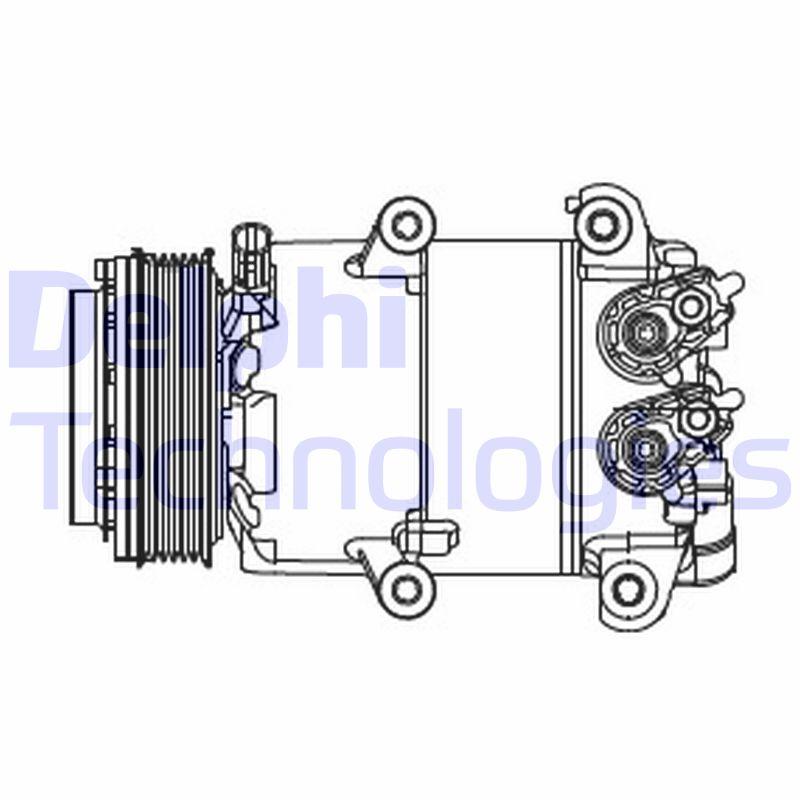 Kompresor klimatizace DELPHI CS20466