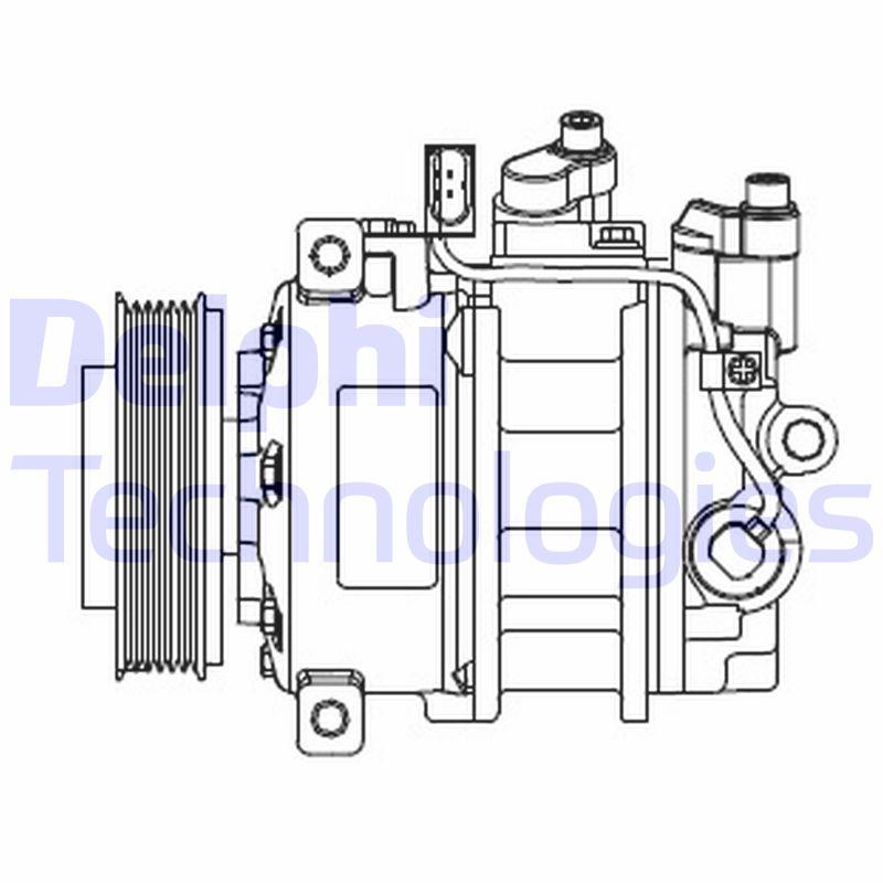 Kompresor klimatizace DELPHI CS20546