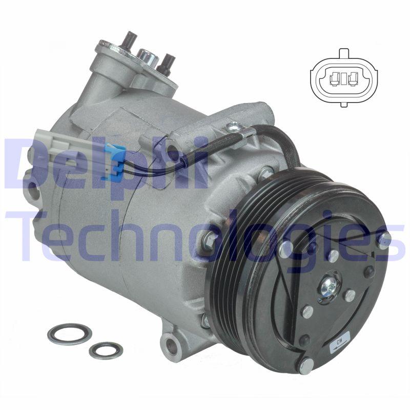 Kompresor klimatizace DELPHI TSP0155142