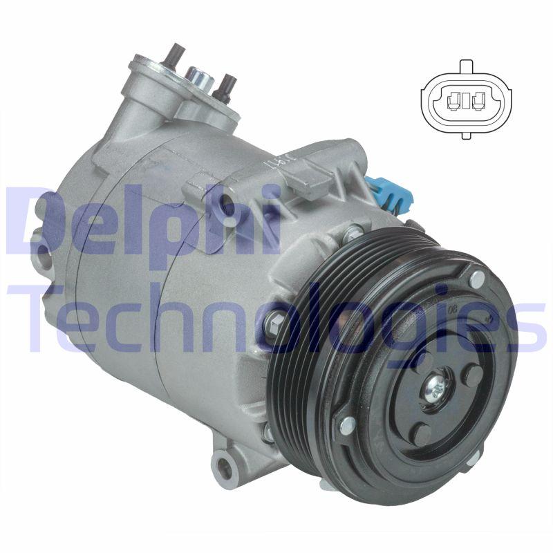 Kompresor klimatizace DELPHI TSP0155439