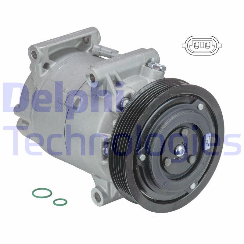 Kompresor klimatizace DELPHI TSP0155831