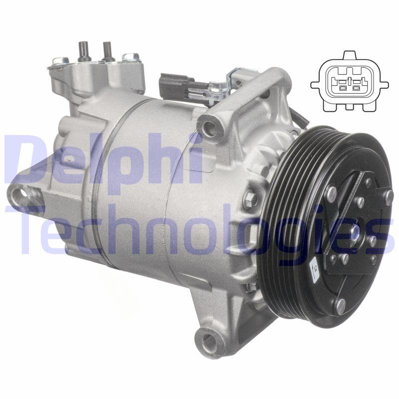 Kompresor klimatizace DELPHI TSP0155927